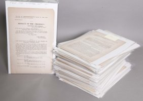 107 Documents Printed For The Confederate Govt.