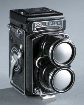 Rolleiflex Camera - By Franke & Heidecke