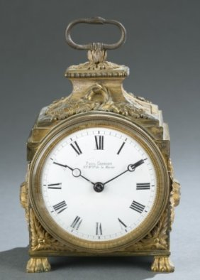 Paul Garnier French Louis Xvi Style Clock.