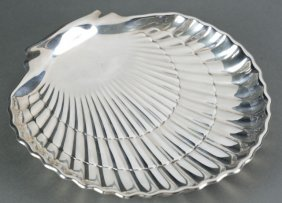 Gorham Sterling Shell Dish.