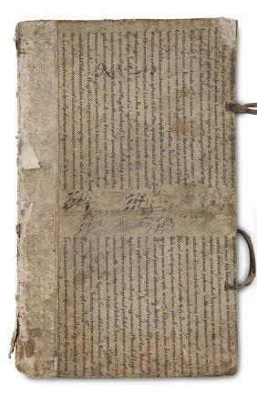 Handschriftliches Abgabenbuch. Anfang 17. Jh. (dat.