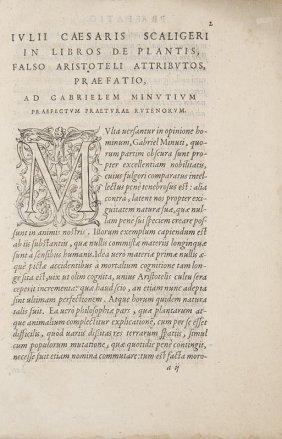 Scaliger, Joseph Justus In Libros Duos, Qui