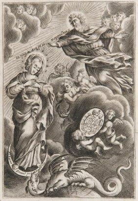 Esterházy, Pál Speculum Immaculatum..., Wien, Voigt,