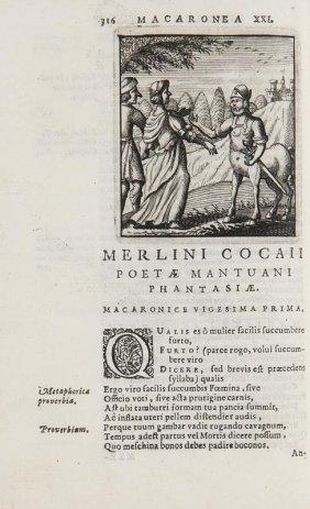 Folengo, Teofilo Opus Merlini Cocaii Poetae Mantuani
