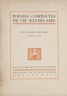 Baudelaire, Charles Poésies Complètes. 3 Bände. Mit 3
