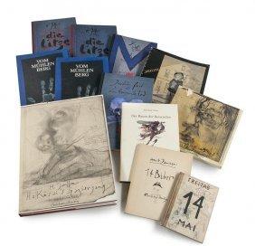Janssen, Horst Sammlung Von 27 Davon 26 Monogrammierten