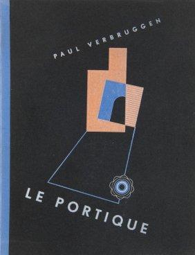 Verbruggen, Paul Le Portique. Mit 4 Ganzseitigen