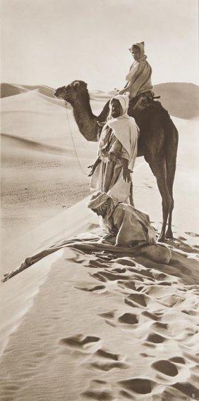 Lehnert Und Landrock Gebet In Der Wüste. Vintage.