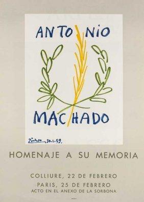 Picasso, Pablo - Nach Antonio Machado. 1959.