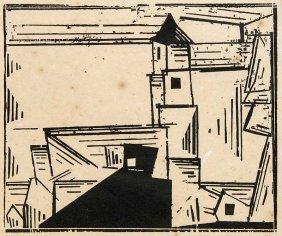 Feininger, Lyonel Gelbe Dorfkirche 3. 1978. Zweiter