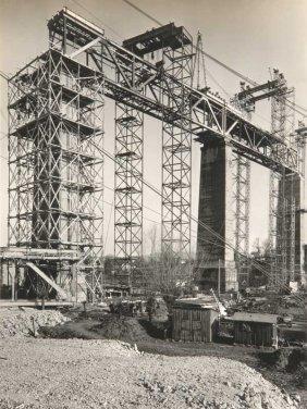 Hallensleben, Ruth Wiederaufbau Des Ghltalviadukts.