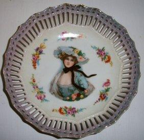 Gibson Girl Portrait Bowl