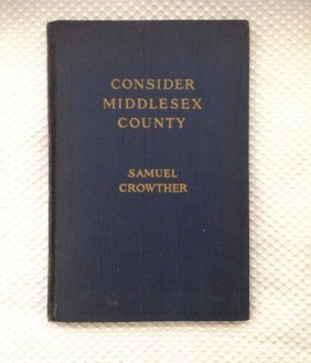 CONSIDER MIDDLESEX COUNTY - Crowther