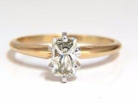 .75ct Classic Raised Solitaire Longer Radiant Cut