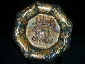 Jepanese Kutani Porcelain Plate