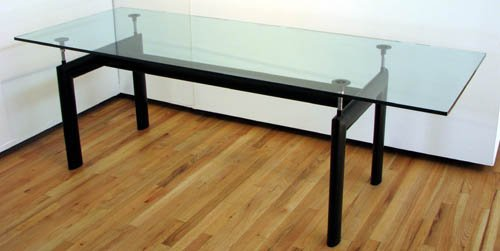 Le Corbusier Style LC6 Dining Table .