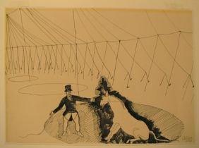 Alexander Calder Circus Drawings 141A: Alexander Calder...