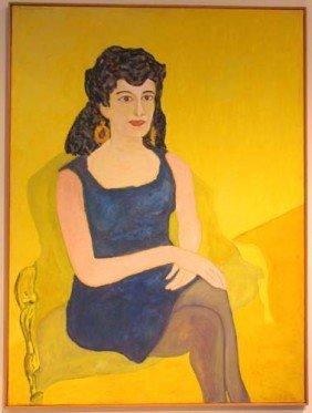 Beauford Delaney Seated Portrait Of Darthea Speyer