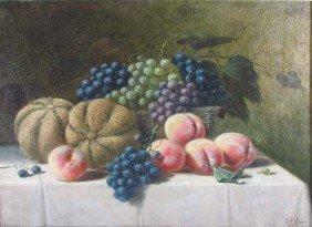 A.F. King Still Life Of Fruit