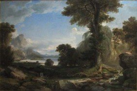 "Jasper Lawman  1865 ""The Poet's Vista"""