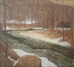 William G. Mayer River Landscape