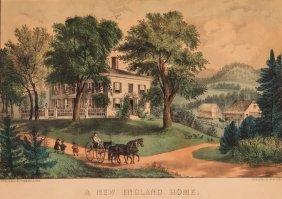 Currier And Ives New England Home & Harvest