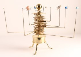 Epltd Motorized Orrery Solar System Model