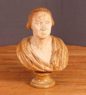 Plaster Bust Of George Washington
