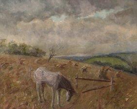 Lila Hetzel End Of October Painting