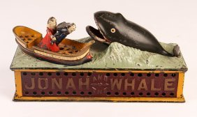 Jonah And The Whale, Cast Iron Bank