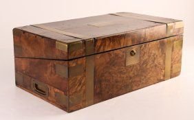 Travel Writing Desk Of English Origin With Fitted