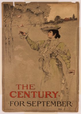 H. M. Rosenberg The Century Magazine Poster For