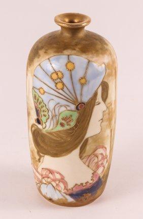 Riessner, Stellmacher, And Kessel Portrait Amphora Vase