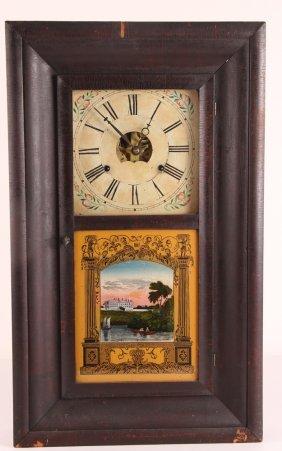 19th Century Ogee Clock Retaining Original Label,