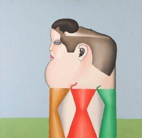 "Richard Craig Thompson Painting ""portrait Of F.b. Bog"""