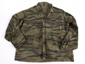 Vietnam War Us Tiger Stripe In-country Made Jacket