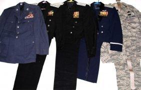 Usaf Uniform Lot Of 5