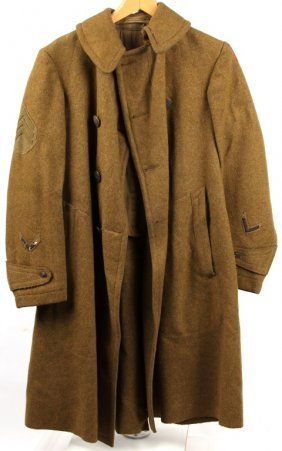 Wwii Us Army 28th Infantry Division Wool Coat