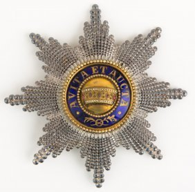 Austrian Order Of The Iron Crown 1st Class Badge