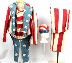Antique American Flag Costume