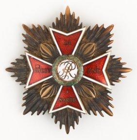 Poland Order Of The White Eagle Breast Badge