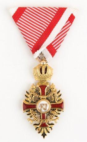 Austria Order Of Franz Joseph Knights Cross