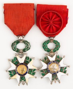 French Legion Of Honor Medal Lot Of 2