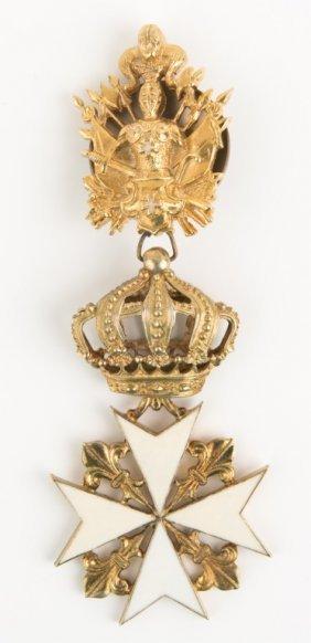 Knights Hospitaller Order Of St John Medal