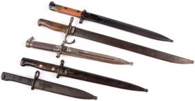 Mixed Bayonet Lot Of 5