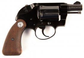 Colt Agent Shrouded Hammer .38 Spl Revolver