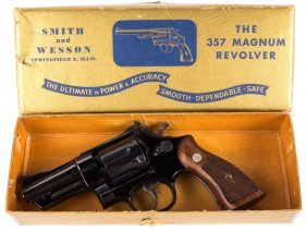 Smith & Wesson Pre Model 27 With Box .357