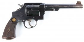 Smith & Wesson Triple Lock .455 Webley British