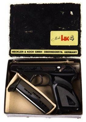 Hk Heckler 7 Koch Hk4 Pistol In Box