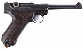 Dwm P-08 Luger Finnish Marked Import Marked